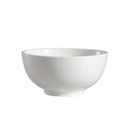 CAC China 101-66 Lincoln Porcelain Rice Bowl 10 oz. - 4 doz