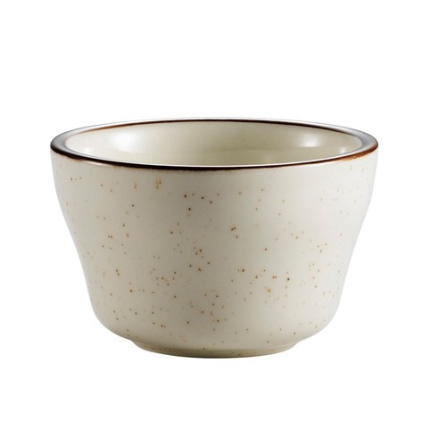 CAC China AZ-4 Arizona Brown Rim Speckled Bouillon Bowl 7.25 oz. - 3 doz