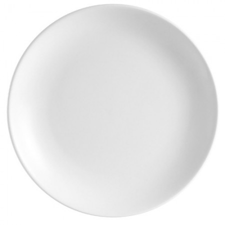 "CAC China COP-22 Coupe Porcelain Round Plate 8""  - 3 doz"