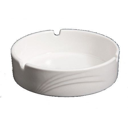 CAC China GAD-AT Garden State Porcelain Embossed Ashtray - 6 doz