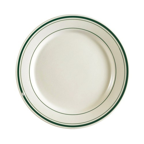"CAC China GS-21 Greenbrier Dinner Plate 12""  - 1 doz"