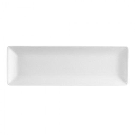 "CAC China LON-81 Long Island Porcelain Platter 18-3/4""x 4-3/4"" - 6 pcs"