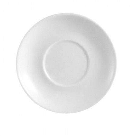 "CAC China PRM-4-P Clinton Rolled Edge Saucer 4"" - 3 doz"