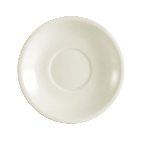 "CAC China REC-2  Rolled Edge Stoneware Saucer 6"" - 3 doz"
