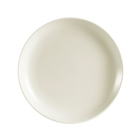 """CAC China REC-21C Rolled Edge Coupe Plate 12"""" - 1 doz"""