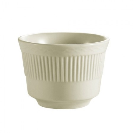 CAC China RID-4 Ridgemont American White Bouillon Bowl 7 oz. - 3 doz