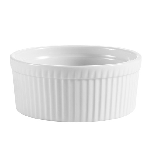 CAC China RKF-8 8 oz. Ramekin - 3 doz