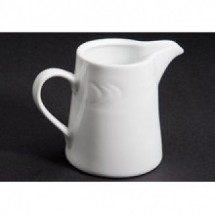 CAC China RSV-PC Roosevelt Porcelain Creamer 6 oz. - 3 doz