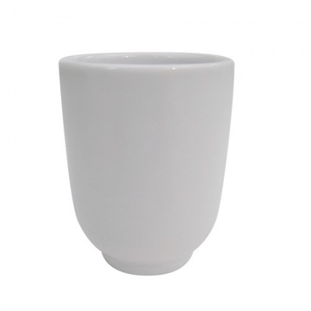 CAC China SHA-17 Sushia Porcelain Tea / Sake Cup 8 oz. - 3 doz
