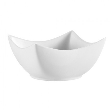 CAC China SHA-B8 Sushia Square Porcelain Bowl 64 oz. - 2 doz