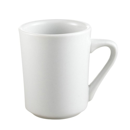 CAC China SI-8-P Clinton Porcelain Mug 8 oz. - 3 doz