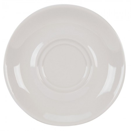 """CAC China SMG-2 Rolled Edge Saucer 7"""" - 3 doz"""