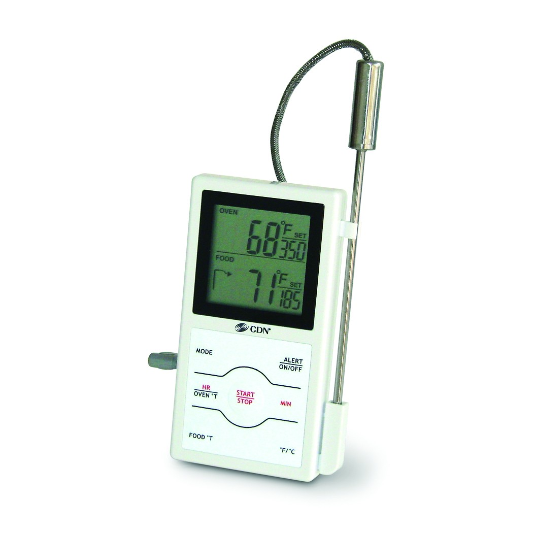 CDN DSP1 Dual-Sensing Probe Thermometer / Timer
