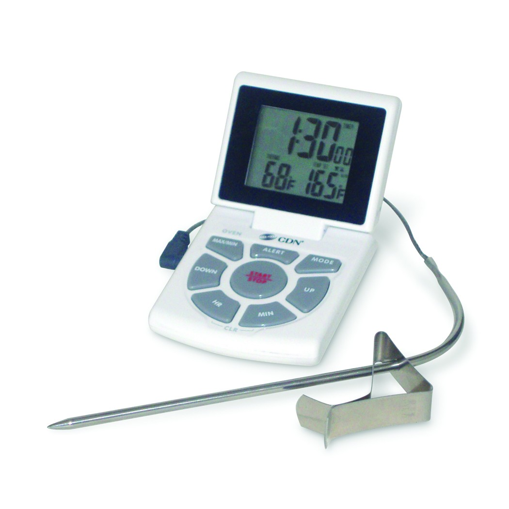 CDN DTTC-W Combo Probe Thermometer Timer and Clock