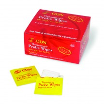 CDN PW200 Thermometer Probe Wipes Packets