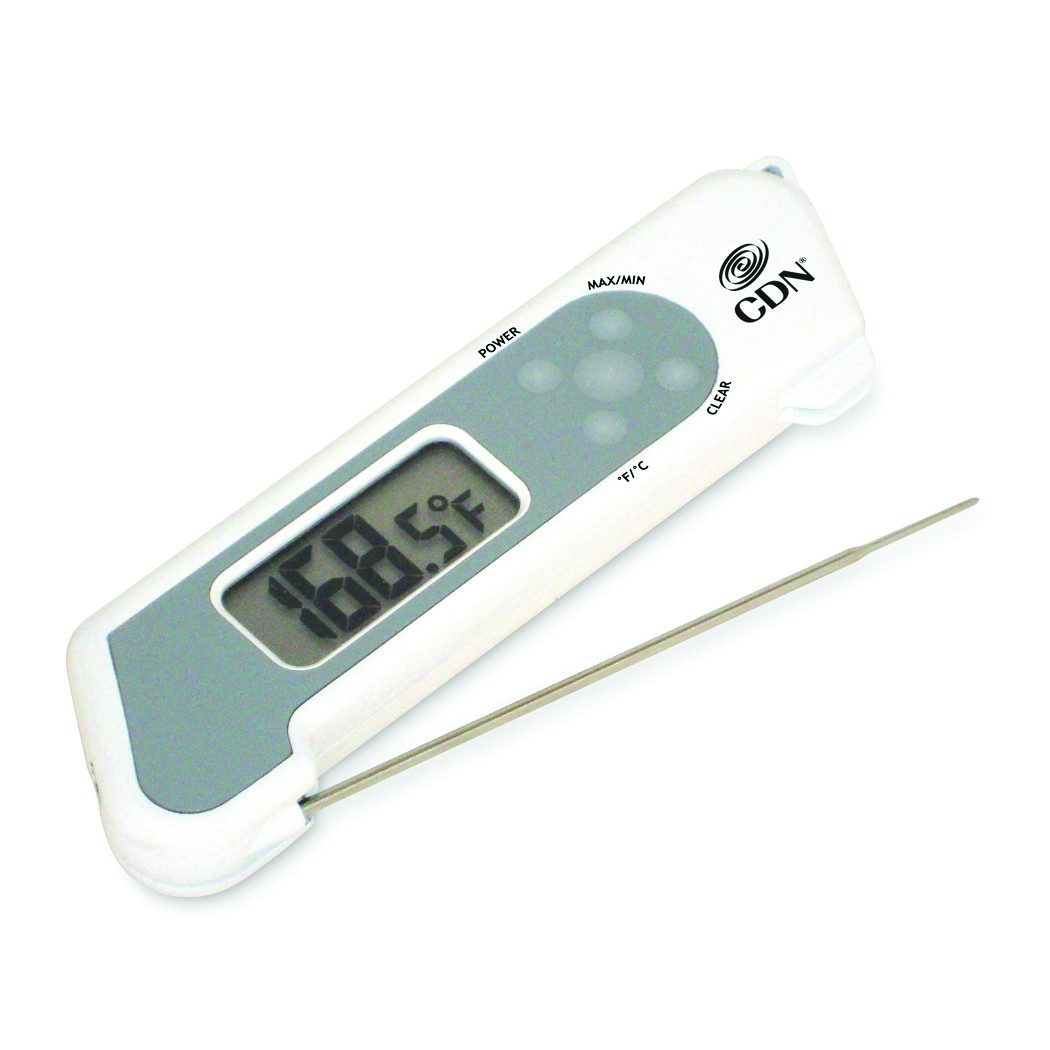 CDN TCT572-W ProAccurate® Folding Thermocouple Thermometer White