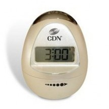 CDN TM12-W Digital Egg-Shaped Timer, Pearl White
