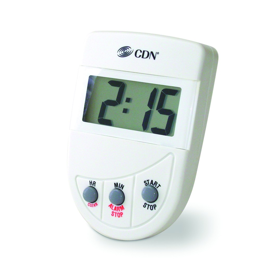 CDN TM4 Loud Alarm Hour and Minute Digital Timer