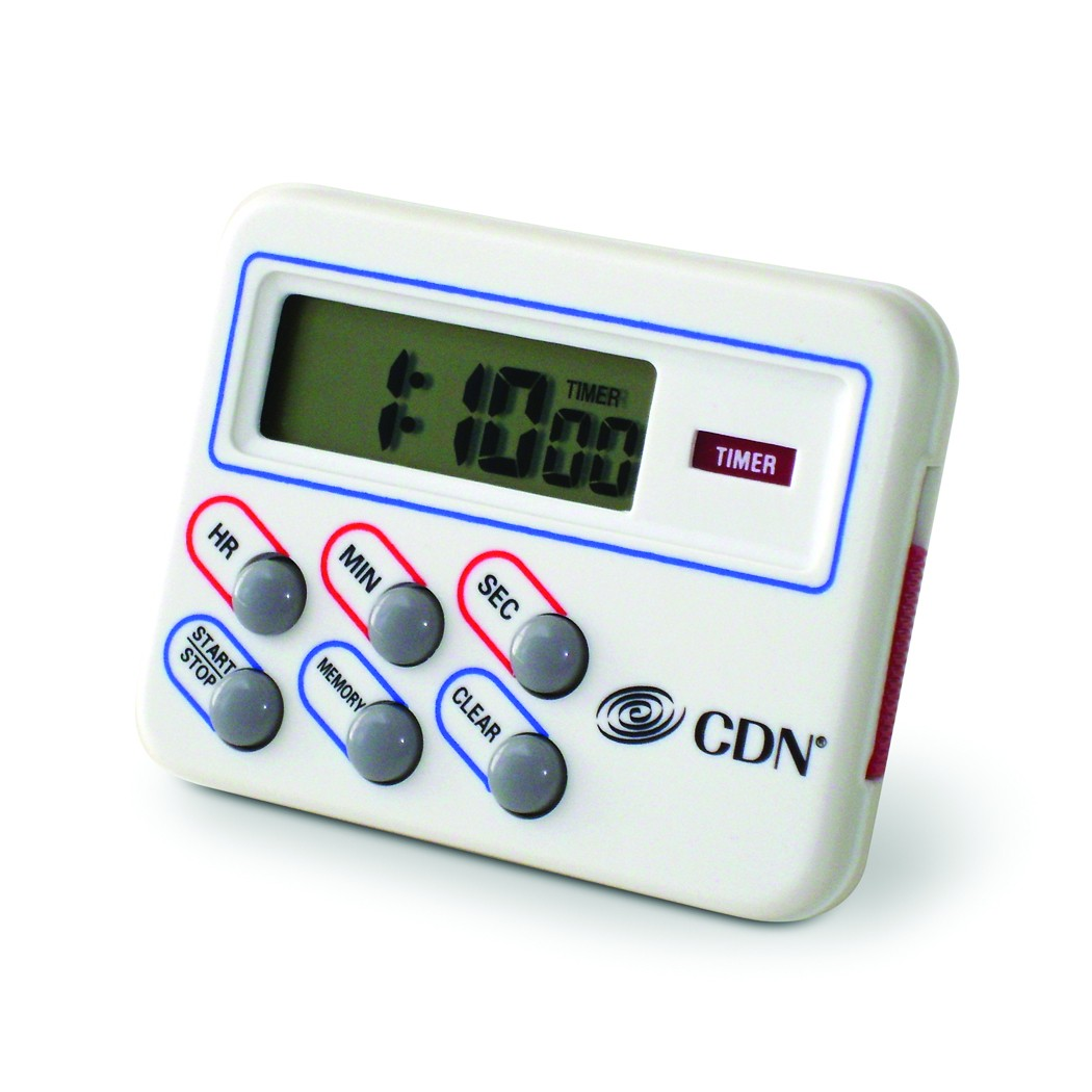 CDN TM8 Digital Multi-Task Kitchen Timer and Clock