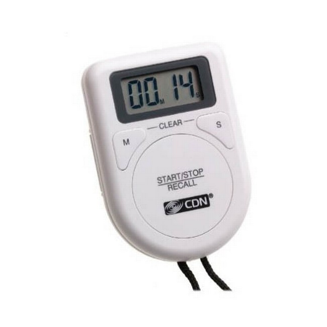 CDN TR3-W Digital Timer on a Rope, White