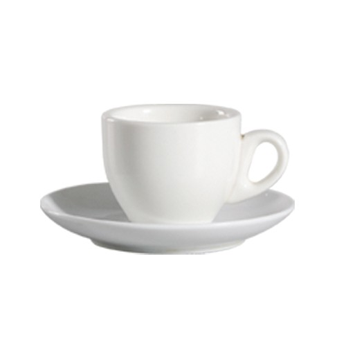 CAC China 101-35 Lincoln Porcelain A.D. Cup 3.5 oz.  - 3 doz