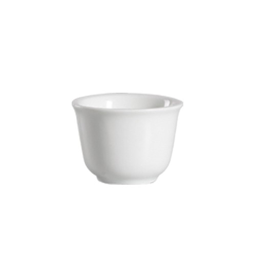 CAC China 101-55 Lincoln Porcelain Cup 5 oz. - 6 doz