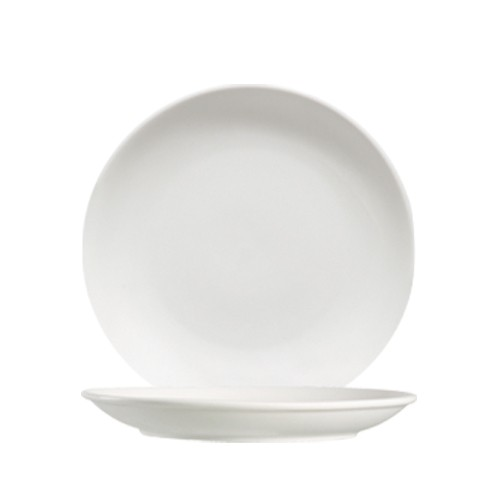 "CAC China 101-6C Lincoln Porcelain Coupe Plate 6-1/4"" - 3 doz"