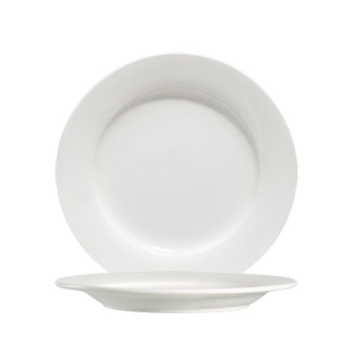 "CAC China 101-8 Lincoln Porcelain Plate 8-1/4"" - 3 doz"