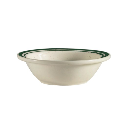 CAC China CES-11 Emerald Rim Fruit Dish 5 oz.- 3 doz