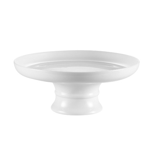 "CAC China CKST-10C Coupe Cake Plate with Stand 10"" - 6 pcs"