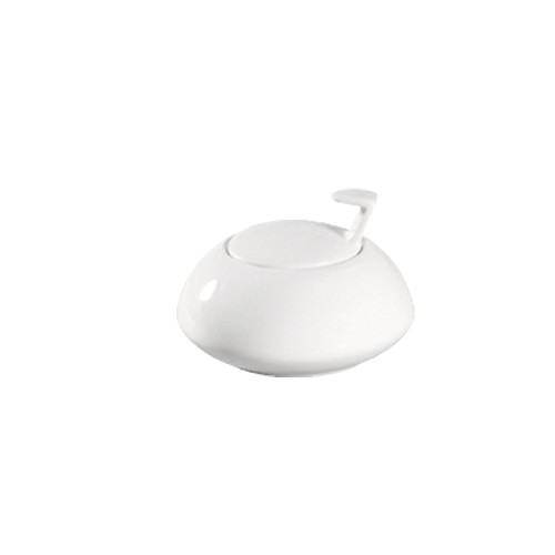 CAC China COL-HSP Collection Porcelain Sugar Bowl 3-1/4