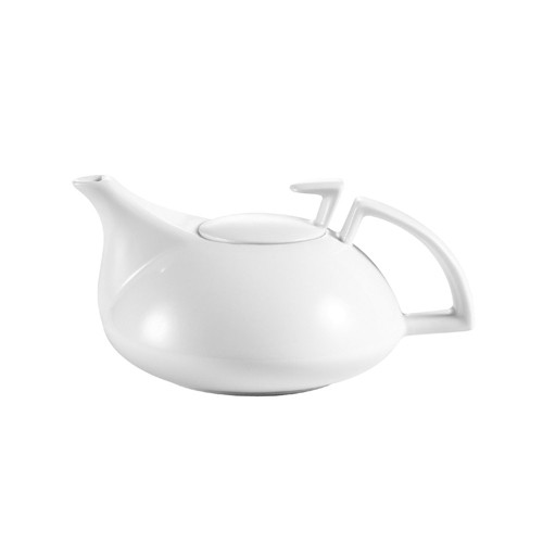 CAC China COL-TP Collection Porcelain Tea Pot 20 oz. - 2 doz