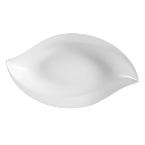 CAC China COL-W13 Wavy Porcelain Bowl 12 oz. - 2 doz