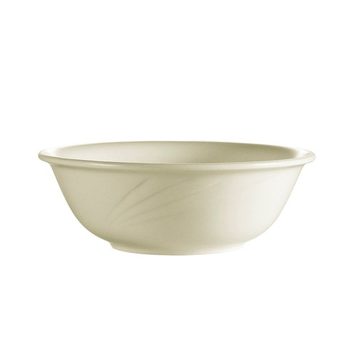 CAC China GAD-15 Garden State Porcelain Embossed Nappie 12.5 oz. - 3 doz