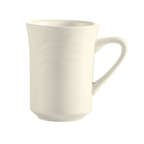 CAC China GAD-17 Garden State Porcelain Embossed Mug  8 oz. - 3 doz