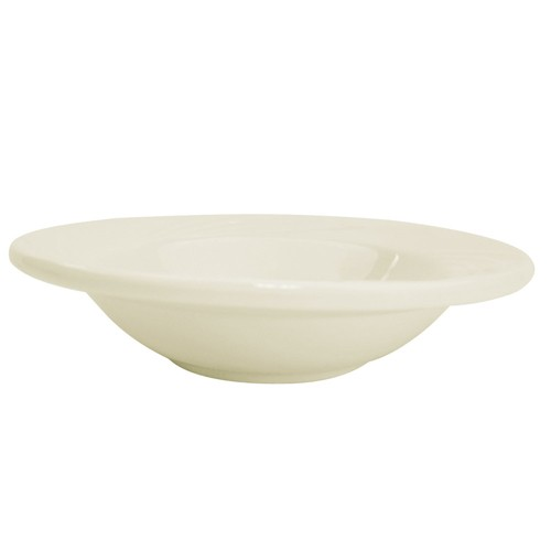 CAC China GAD-32 Garden State Porcelain Embossed Fruit Bowl 3.5 oz. - 3 doz