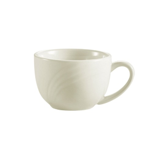 CAC China GAD-54 Garden State Porcelain Embossed Cup 3.5 oz.  - 3 doz