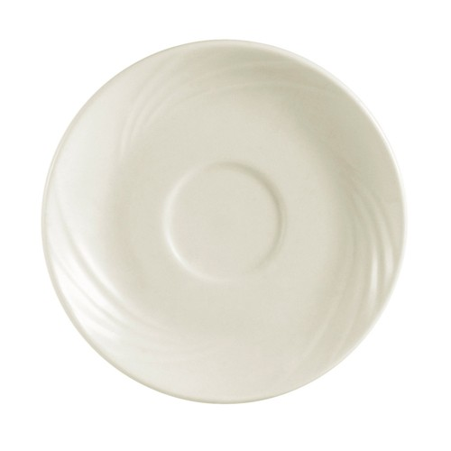 """CAC China GAD-55 Garden State Porcelain Embossed Saucer 5-1/4""""   - 3 doz"""