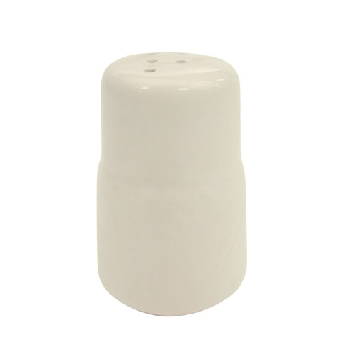 CAC China GAD-PS Garden State Porcelain Embossed Pepper Shaker - 4 doz
