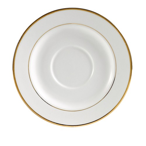 "CAC China GRY-2 Golden Royal Saucer 5-3/4"" - 3 doz"