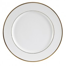 "CAC China GRY-22 Golden Royal Round Plate 8"" - 3 doz"