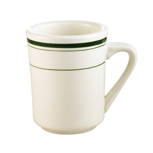 CAC China GS-17 Greenbrier Ventura Mug 8 oz. - 3 doz