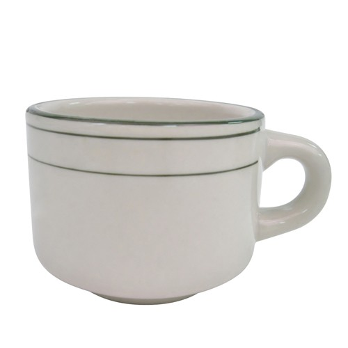 CAC China GS-23 Greenbrier Stacking Cup 7 oz. - 3 doz