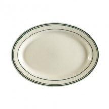 "CAC China GS-41 Greenbrier Oval Platter 13-1/2"" x 9-1/4""  - 1 doz"