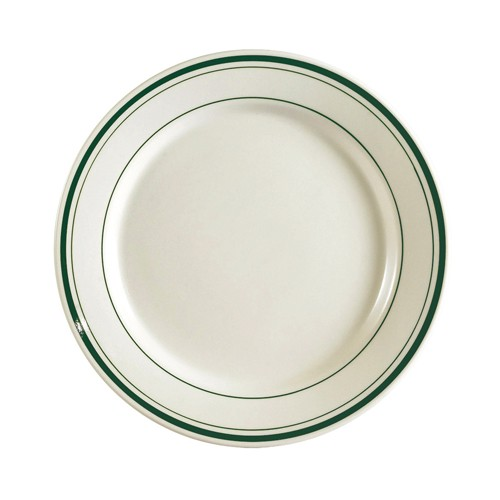 "CAC China GS-9  Greenbrier Plate 9-3/4""  - 2 doz"