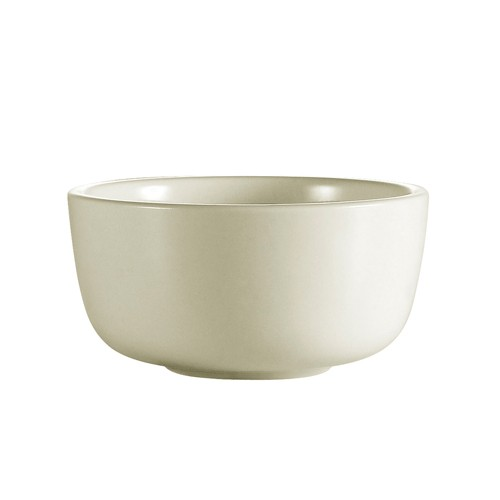 CAC China JB-95 Rolled Edge Stoneware Jung Bowl 9.5 oz. - 3 doz