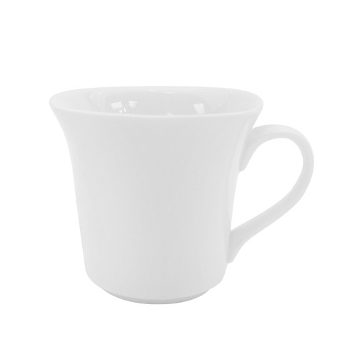 CAC China KSE-54  Kingsquare Porcelain Cup 4.5 oz. - 3 doz
