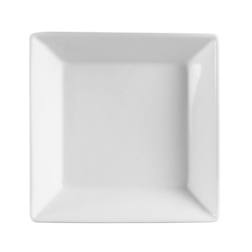 CAC China KSE-B10 Kingsquare Porcelain Square Bowl 86 oz.  - 1 doz