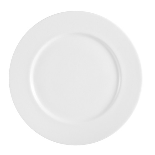 "CAC China MAJ-16 Majesty Bone China Plate 10-1/2""- 1 doz"