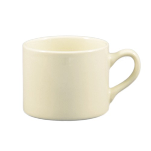 CAC China MUM-10 American White Stacking  Mug 10 oz.   - 3 doz